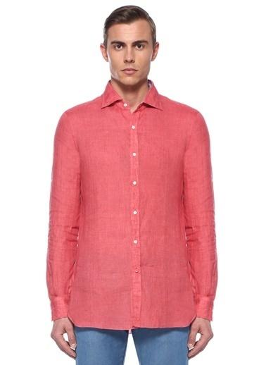 Isaia Gömlek Kırmızı